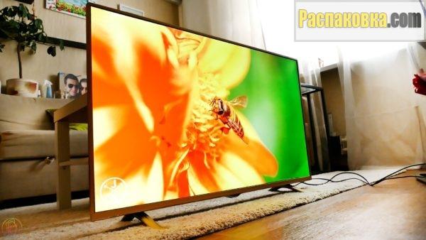 Распаковка и обзор телевизора DEXP F43B8000K