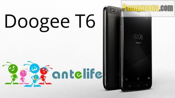 Распаковка и обзор смартфона Doogee T6