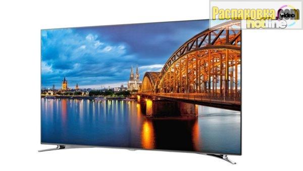 Распаковка и обзор телевизора Samsung UE55F8000